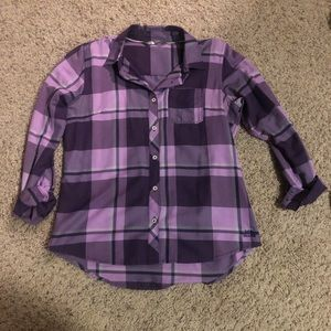 The north face plaid shirt